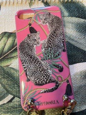 Iphoria Carcasa para teléfono móvil rosa-verde