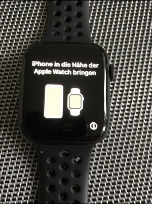 Apple Digital Watch anthracite-black