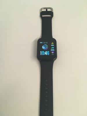 no name Self-Winding Watch black polyacrylic