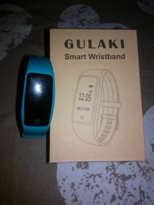 Digital Watch light blue