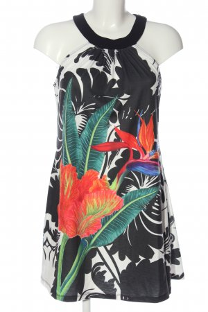 Smash A-Linien Kleid Allover-Druck Casual-Look