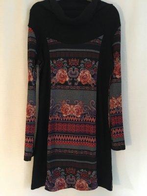 Smash - Buntes Herbst Kleid Gr 40