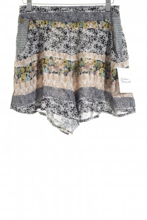Smash High-Waist-Shorts florales Muster schlichter Stil