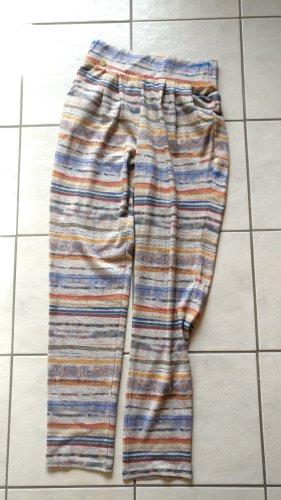 Smash Pantalon en laine multicolore
