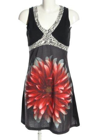 Smash Jerseykleid Blumenmuster Casual-Look