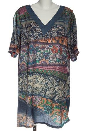 Smash Shortsleeve Dress abstract pattern casual look