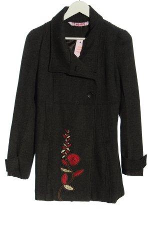 Smash Short Coat black casual look