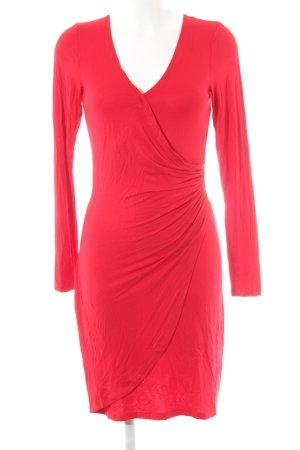 Smash Longsleeve Dress red elegant