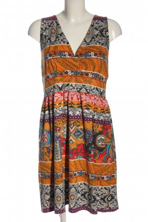 Smash Mini Dress abstract pattern casual look