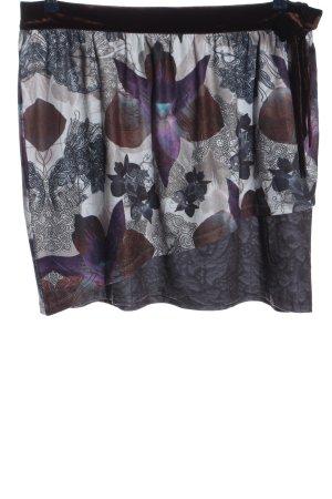 Smash Miniskirt abstract pattern casual look
