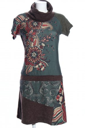 Smash Knitted Dress allover print casual look