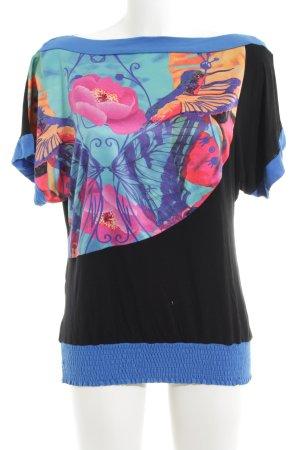 Smash T-Shirt abstraktes Muster Casual-Look