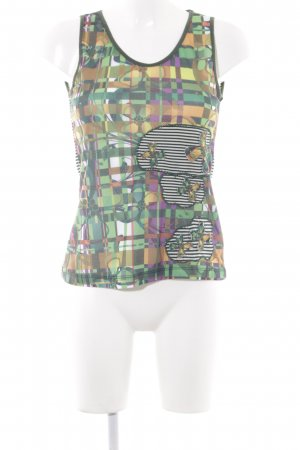 Smash Strappy Top mixed pattern extravagant style