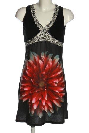 Smash Robe en laine motif de fleur style décontracté