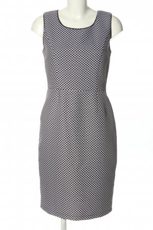 Smashed lemon Etuikleid schwarz-weiß abstraktes Muster Business-Look