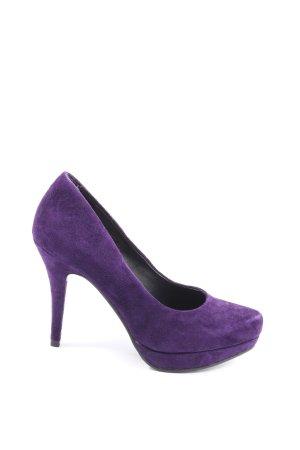 SMH High Heels lila Casual-Look