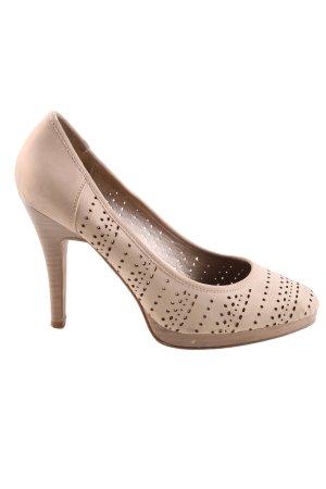 SMH High Heels creme Business-Look