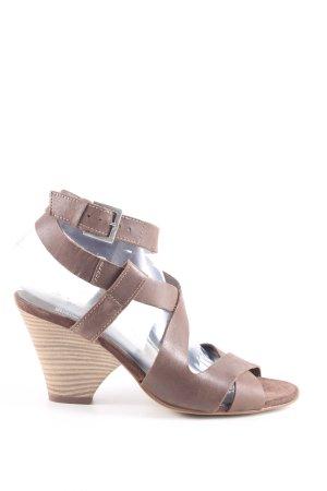 SMH Riemchen-Sandaletten braun Casual-Look