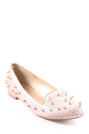 SMH Slipper roségoldfarben Elegant