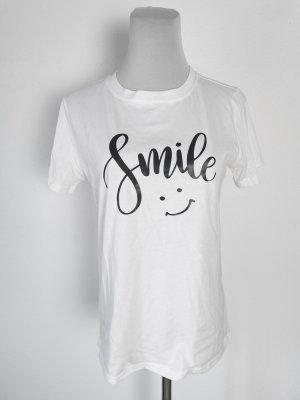 smile shirt shein baumwolle