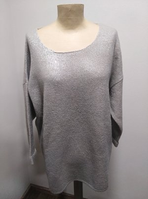 Smile with Frapp Pullover beige metallic Gr. 44