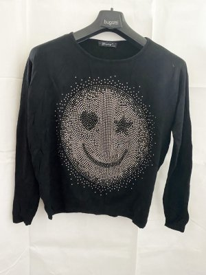 Smiley Shirt :) Gr. L/XL schwarz