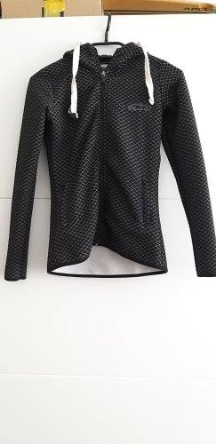 Smilodox jacke Training gym sweatjacke schwarz xs 34 Taschen Kapuze