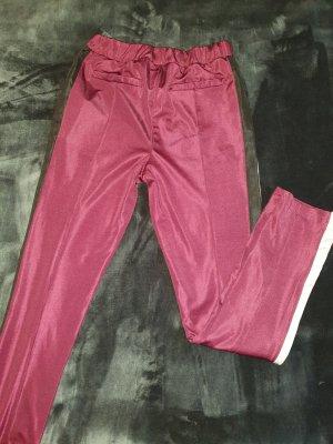 Smilodox Pantalone da ginnastica bordeaux