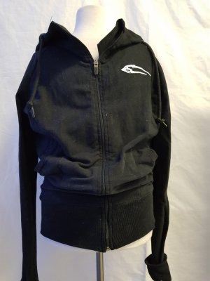 smilodox Sweatjacke in schwarz gr. S