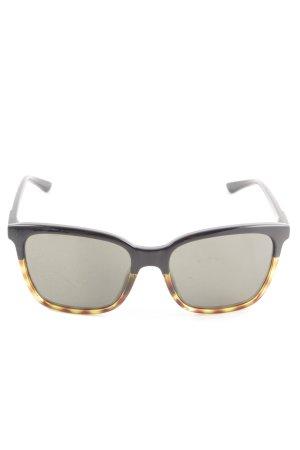Smith eckige Sonnenbrille schwarz-goldfarben Casual-Look