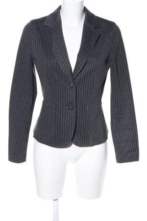 Smith&Soul Jerseyblazer schwarz-weiß Allover-Druck Business-Look