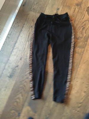 Smith&Soul Pantalón deportivo negro-marrón