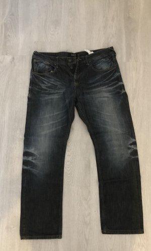 SMOG Jeanshose 38/32 blau