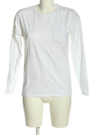 SMOG Manica lunga bianco stile casual