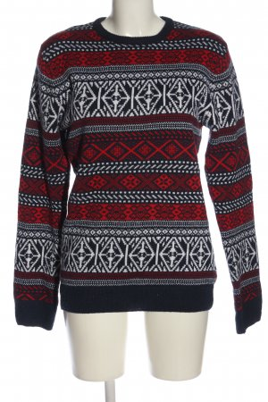 SMOG Norwegian Sweater allover print casual look