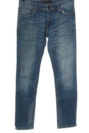 SMOG Jeans a gamba dritta blu stile casual
