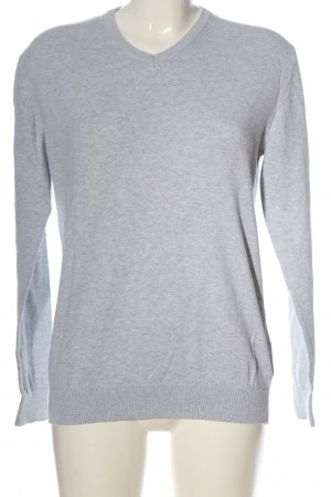 SMOG Knitted Jumper light grey flecked casual look