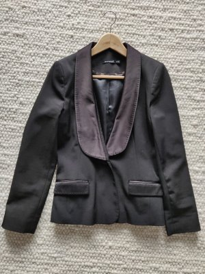 Smoking Blazer Jacke Dinnerjacket schwarz Cocktail