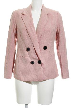Smoking-Blazer rosa meliert Elegant
