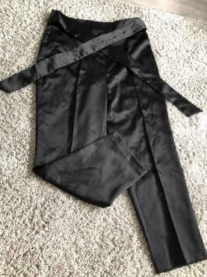 Zara Basic Peg Top Trousers black