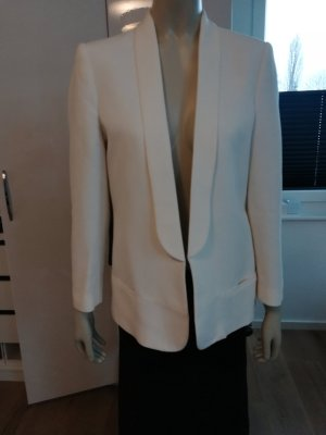 Mango Suit Tuxedo Blazer natural white-cream