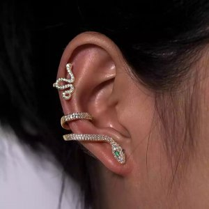 Pessina-Jewelry Clip d'oreille multicolore