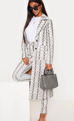 Snake Print Coat / Mantel