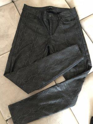 Snake-Print Hose in schwarz von Vero Moda
