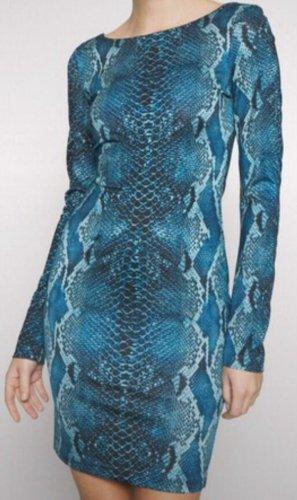 Snake Print Kleid Gr. 36 von Cavalli neu mit Etikett