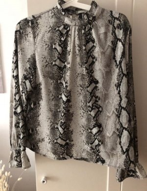 Snakeprint Animalprint Bluse