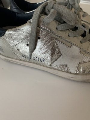Golden Goose Wedge Sneaker light grey-silver-colored