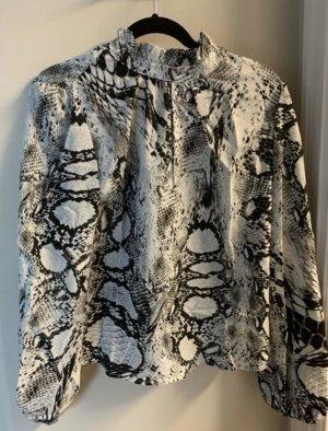 Empiècement de blouses argenté