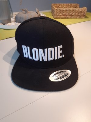 Gorra de béisbol blanco-negro