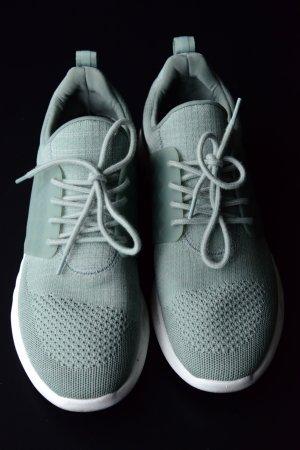 Aldo Sneakers met veters khaki-lichtgroen